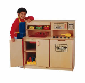 A Pretend Kitchen – Fun That Teaches Life Skills
