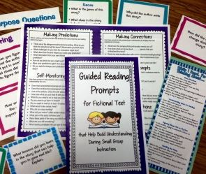 Guided Reading Prompts – Improve Reading Comprehension Using Questions