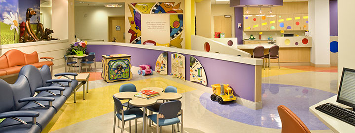 Pediatric Hospital Waiting Area
