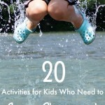 Activities for Kids who Need Rough Play