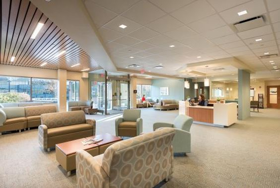 Hospital Waiting Room Design: Photo Tour of Stamford Hospital MOB