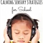 How to Avoid Sensory Overload in School