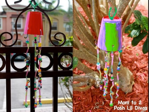 Easter Craft: Spring Windchimes