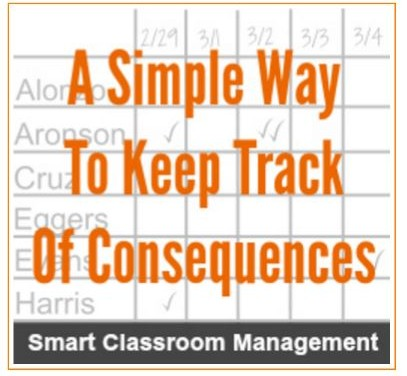 Tracking Student Behavior and Consequences