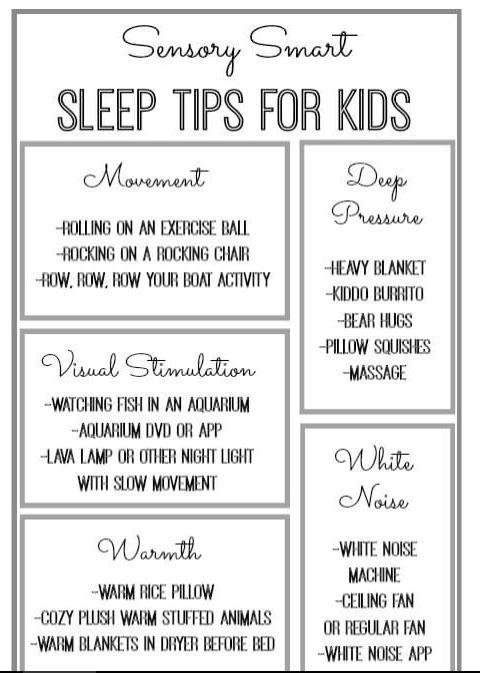 Is Sensory Processing Disorder Real >> Sleep Tips For Kids With Sensory Processing Disorder Spd