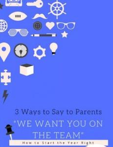 Teachers and Parents are an Unbeatable Team