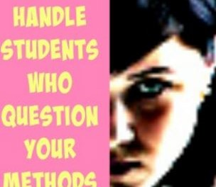 Managing Challenging Student Behaviors