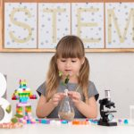 girls and stem toys