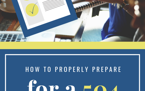 How to Prepare for a 504 Meeting