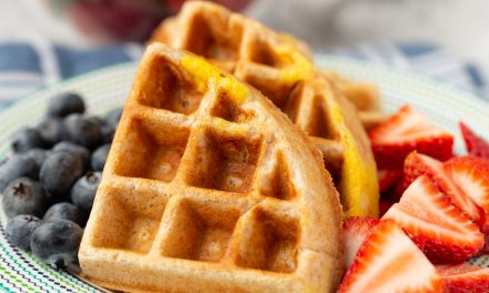 Kid-Friendly Protein Waffles