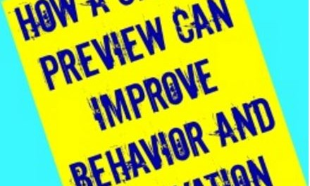 One Simple Technique Can Increase Student Motivation and Decrease Anxiety